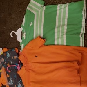 Boys shirts never worn. NEW